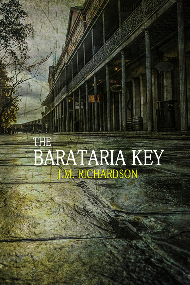 Cover Reveal: The Barataria Key
